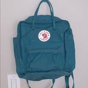 Fjallraven kanken teal backpack